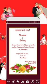 Invitation card maker free & Greeting cards design screenshot 1