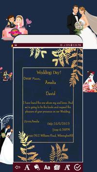 Invitation card maker free & Greeting cards design screenshot 3