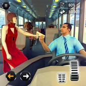 Passenger Bus Taxi Driving Simulator icon