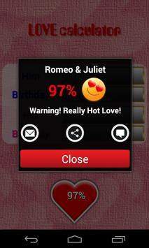 Love Calculator screenshot 2