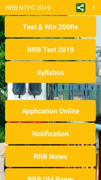 RRB NTPC TEST & WIN - Daily Win 200 Rs. poster
