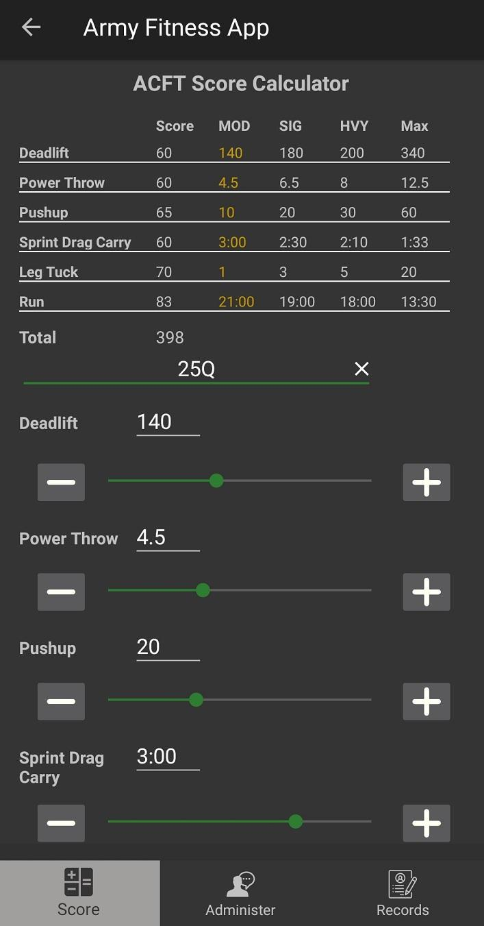 Army Fitness App For Android Apk Download