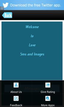 Love Messages / Romantic SMS screenshot 1