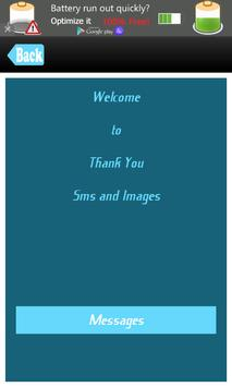 Thank You SMS Messages Msgs poster