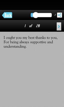 Thank You SMS Messages Msgs screenshot 1