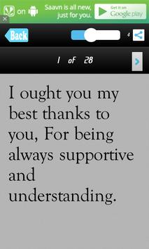 Thank You SMS Messages Msgs screenshot 2