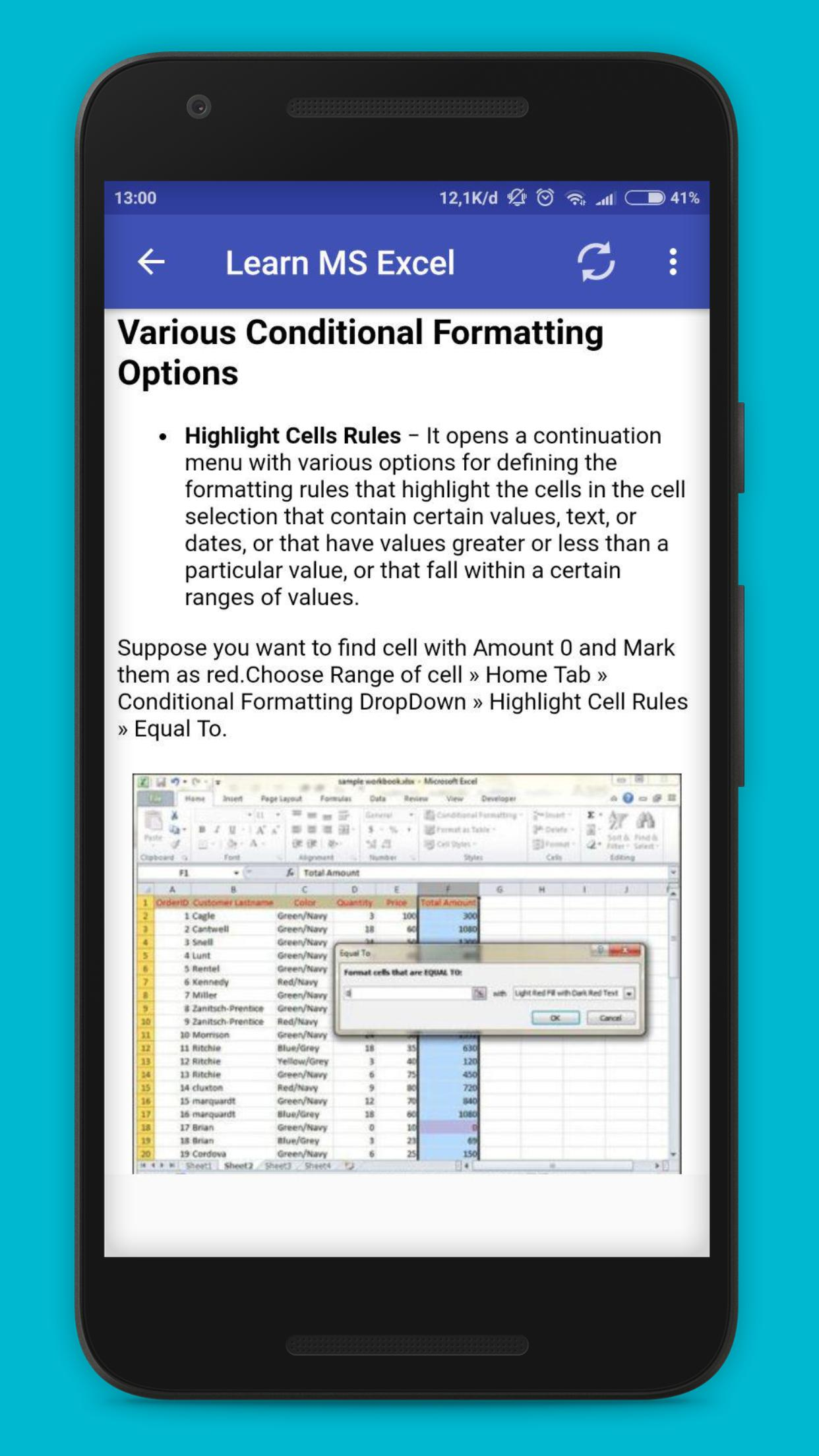 Learn MS Office for Android - APK Download