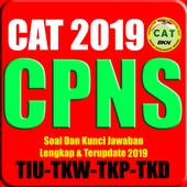 SOAL CAT CPNS TERBARU 2019-2020 CAT TWK TKP TIU icon