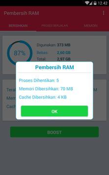 Pembersih RAM screenshot 3