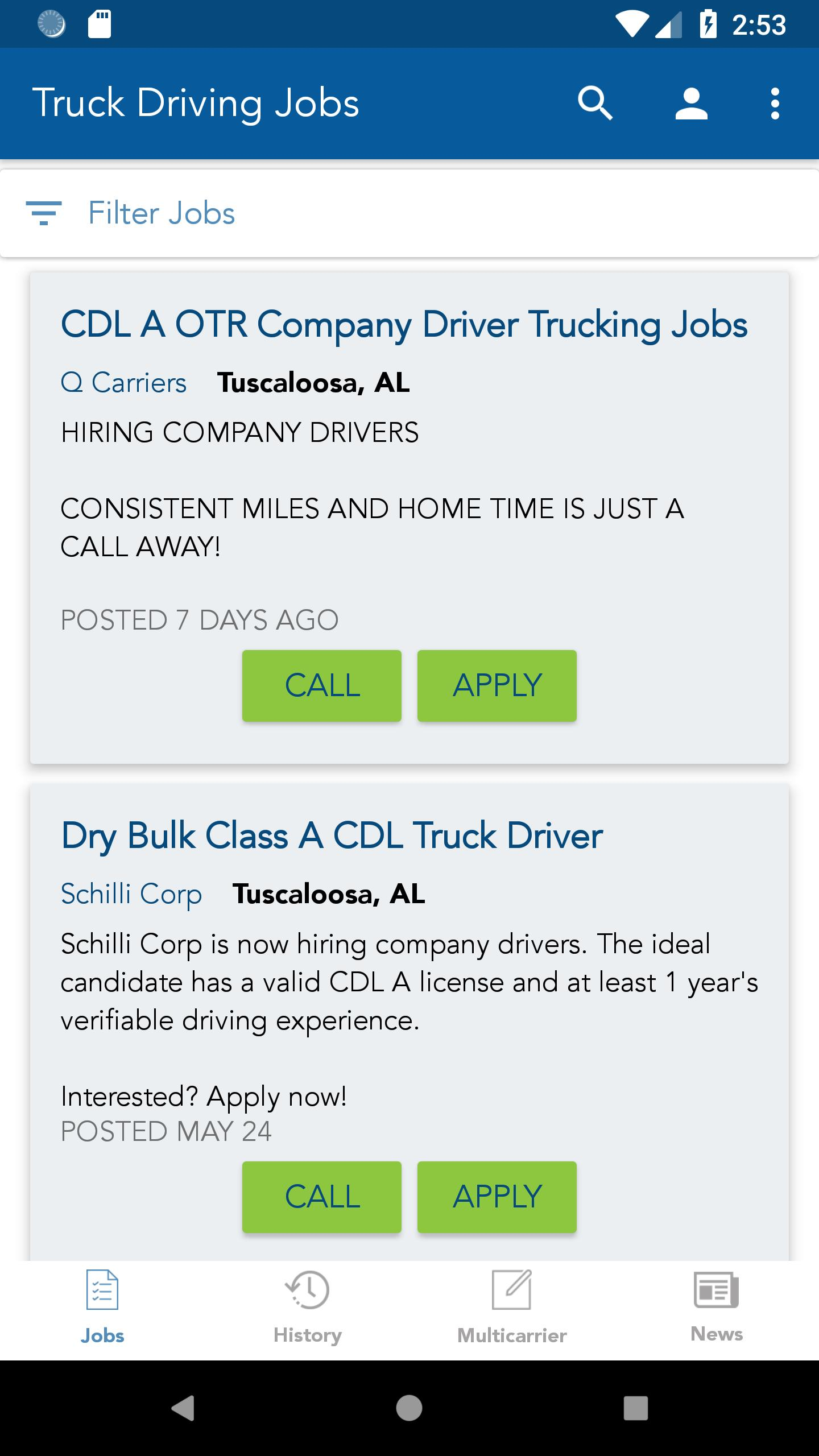 Truck Driving Jobs For Android Apk Download