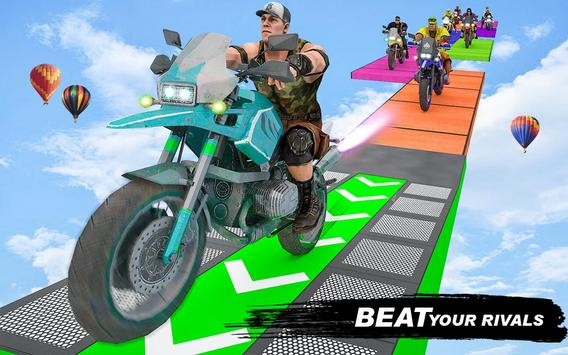 GT Bike Crazy Tracks Race: 3D Motorcycle Stunts poster