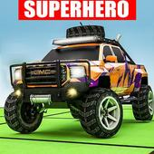 Superhero Jeep Offroad Racing: Superkids Drive 3D icon