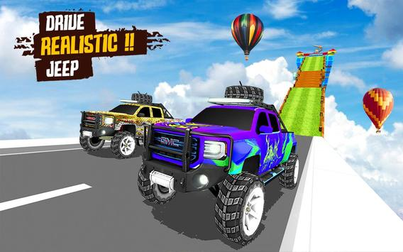 Superhero Jeep Offroad Racing: Superkids Drive 3D screenshot 1