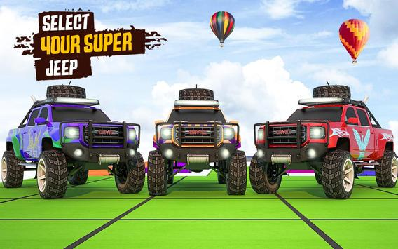 Superhero Jeep Offroad Racing: Superkids Drive 3D screenshot 3