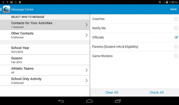 Activity Scheduler screenshot 3