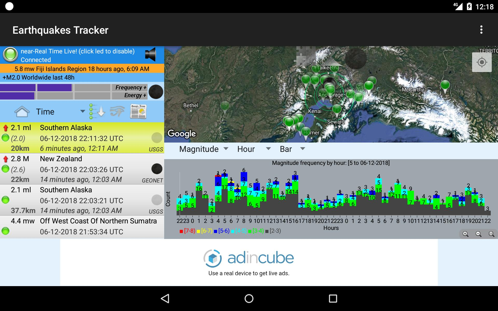 Earthquakes Tracker for Android - APK Download