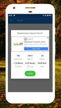 Math Quiz Math Mcq Question SSC Mathematics Quiz screenshot 13