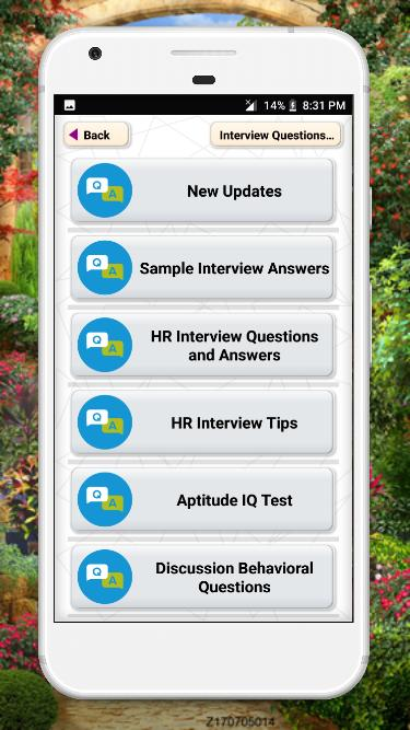 Interview Questions and Answers apps english maths for