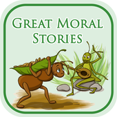 moral stories in english for children offline أيقونة