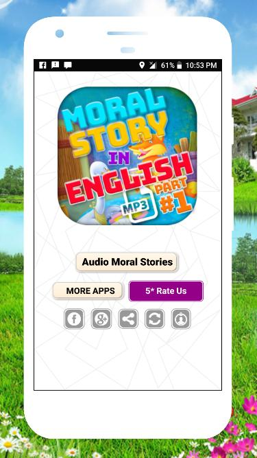 English Moral Story with Audio Stories Offline for Android - APK