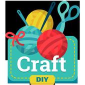 Aprender manualidades y arte de bricolaje icono