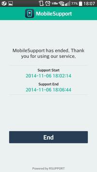 MobileSupport screenshot 4