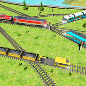 Indian Train City 2019 – Oil Trains Game Driving icon