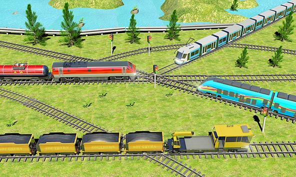 Indian Train City 2019 – Oil Trains Game Driving poster