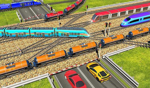 Indian Train City 2019 – Oil Trains Game Driving screenshot 15