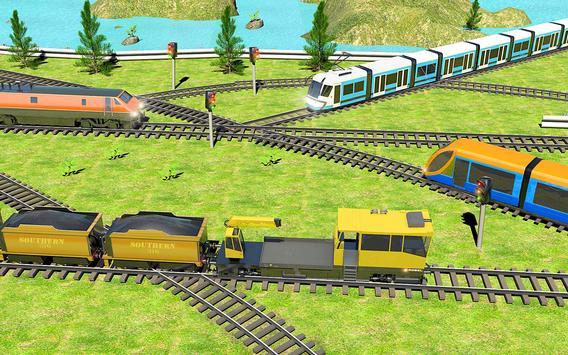 Indian Train City 2019 – Oil Trains Game Driving screenshot 10
