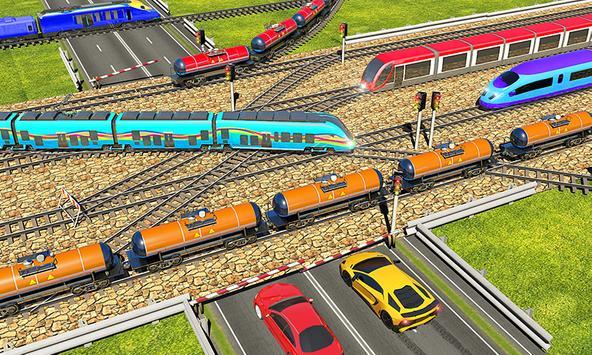 Indian Train City 2019 – Oil Trains Game Driving screenshot 3