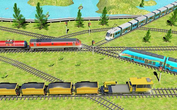 Indian Train City 2019 – Oil Trains Game Driving screenshot 6