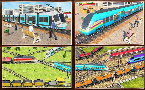 Indian Train City 2019 – Oil Trains Game Driving screenshot 7