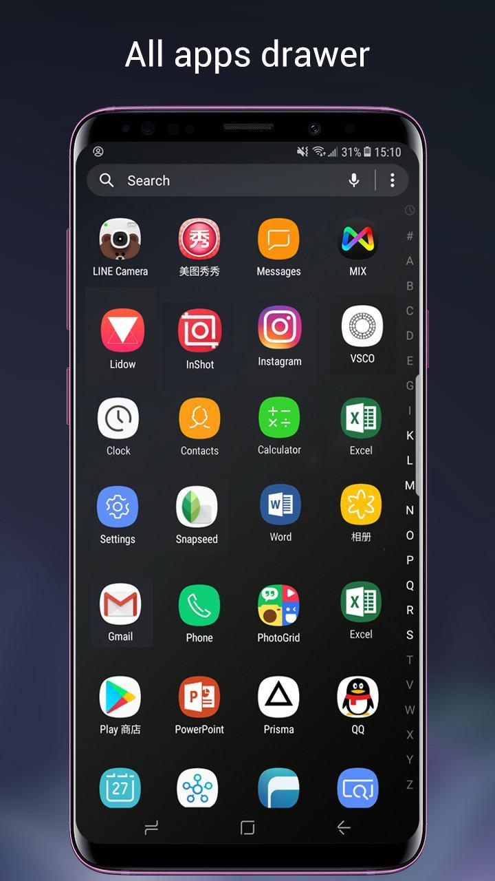 Super S9 Launcher for Galaxy S9/S8/S10 launcher for Android - APK