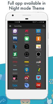 All Social Media apps in one app - Social networks screenshot 4