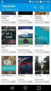ePUB Leitor de Livros Supreader.com imagem de tela 12