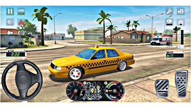 City Taxi Driver 2020 screenshot 10