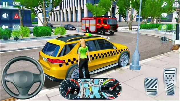 City Taxi Driver 2020 screenshot 11