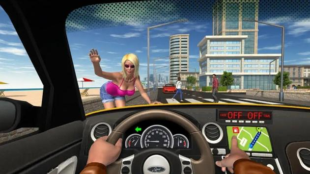 City Taxi Driver 2020 screenshot 17