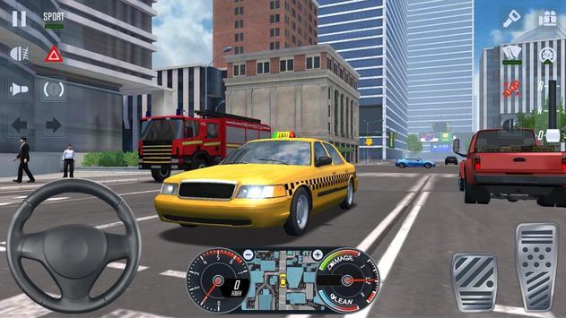 City Taxi Driver 2020 screenshot 12