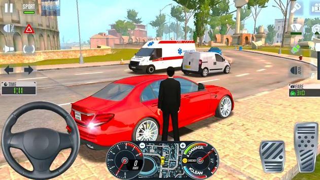 City Taxi Driver 2020 screenshot 13
