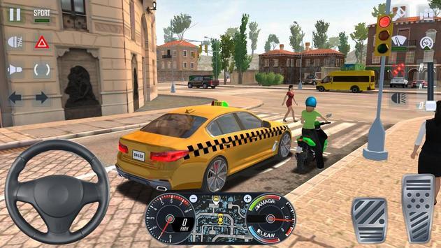 City Taxi Driver 2020 screenshot 16
