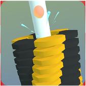 Stack Smash 3D: Helix Blocks Breaker icon