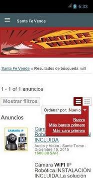 Santa Fe Vende screenshot 1