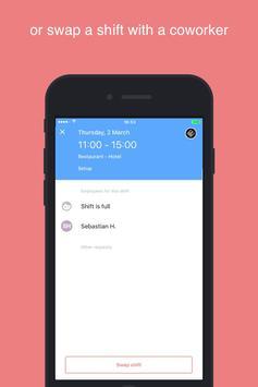 STAFFOMATIC - App for users screenshot 2