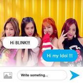 Black PinK Fake Messenger icon