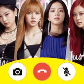 Black PinK Fake Call icon