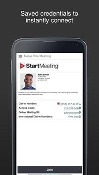 Start Meeting screenshot 1