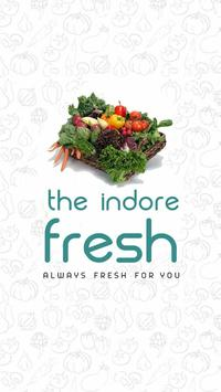 The Indore Fresh- Fresh Fruits & Vegetables online poster