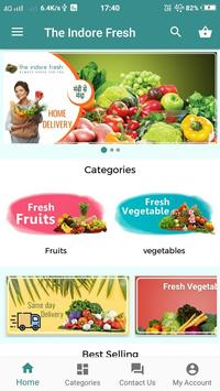 The Indore Fresh- Fresh Fruits & Vegetables online screenshot 1